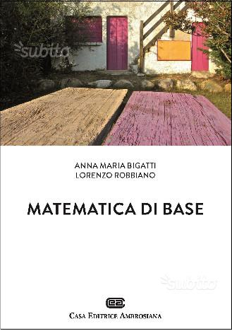 Libri universitari, Matematica,Statistica,Inglese