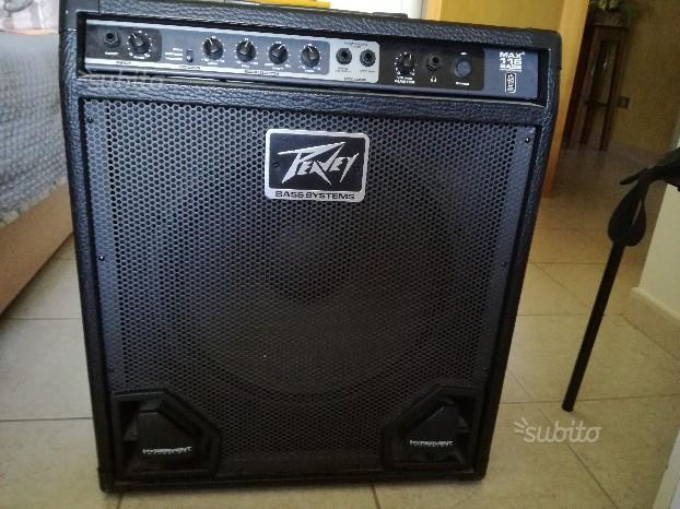 Peavey max 115 bass amplificator