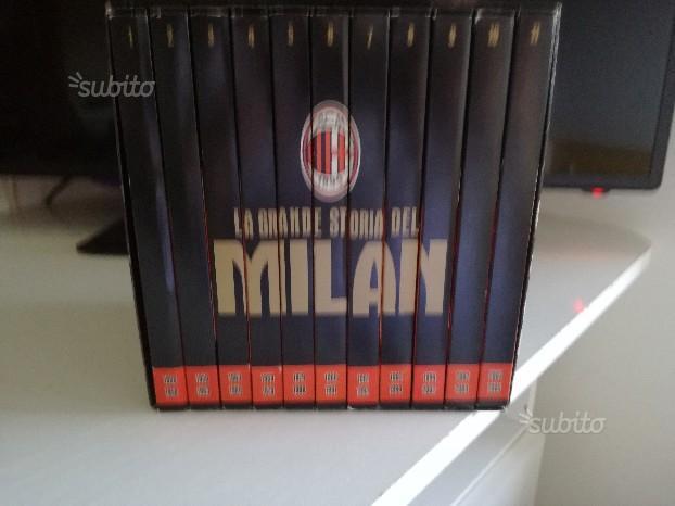 "Cofanetto ""LA GRANDE STORIA DEL MILAN"""