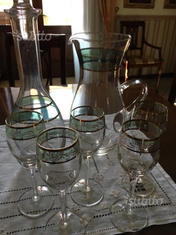 Bicchieri liquore antichi