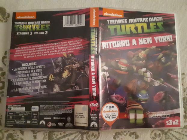 Tartarughe ninja nickelodeon st 3 vol 2