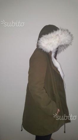 Giubbino parka donna invernale 2 in 1 nuovo
