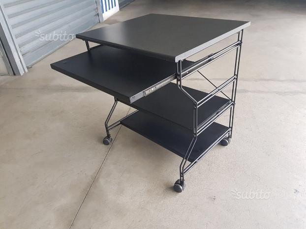 Tavolino scrivania porta computer