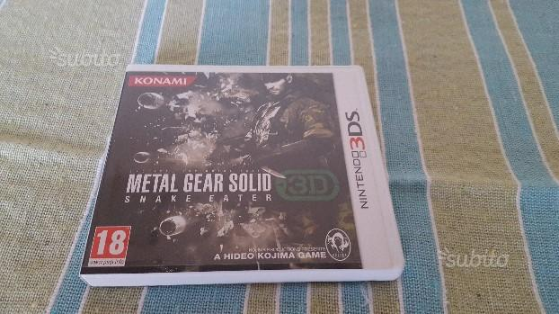 Metal Gear Solid 3D Nintendo 3DS