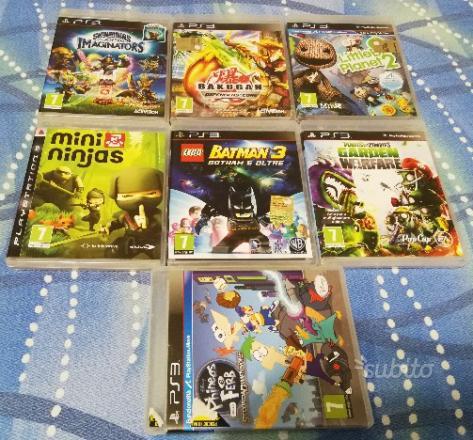 7 giochi per bambini originali per PS3 pegi 7