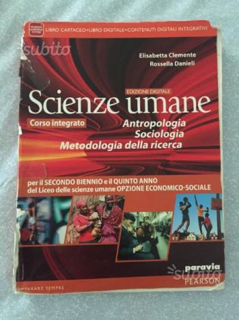 Libro scienze umane