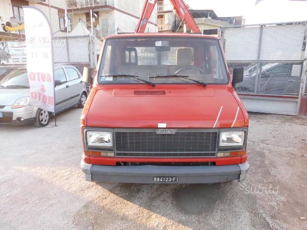 Fiat ducato 2.4cc diesel(privato) - 1982