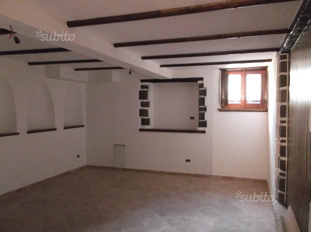 Appartamento terra-tetto con tavernetta