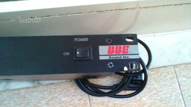 BBE 461 sonic maximizer