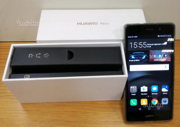 Huawei P8 LITE Black nuovissimo