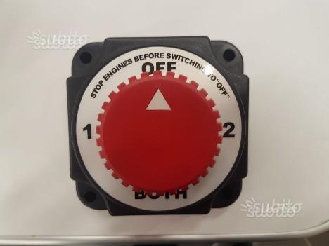 Deviatore staccabatterie
