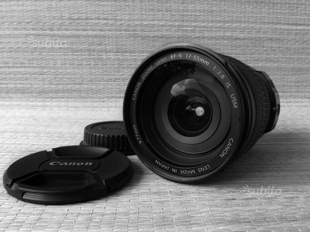 CANON EF-S 17-55mm f/2.8 IS - Zoom Professionale