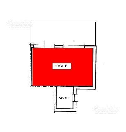 Locale commerciale o ufficio zona villa e md smcv