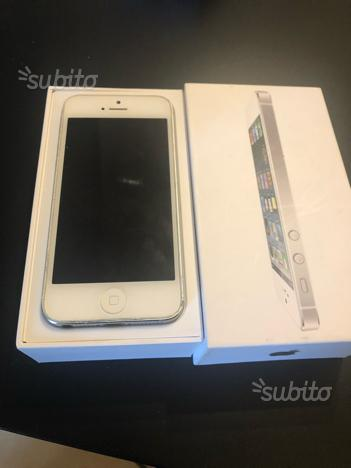 Iphone 5 64gb bianco