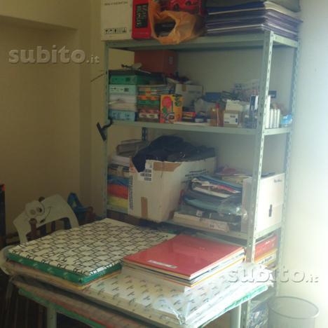 Materiale scolastico,ufficio,gadget ecc