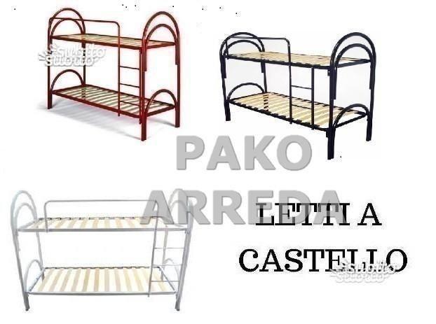 Letto / letti a castello in ferro