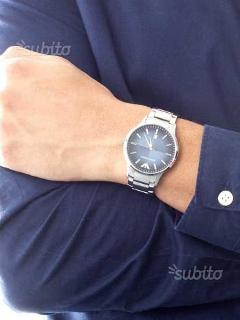 Orologio uomo Emporio Armani AR2472 acciaio blu