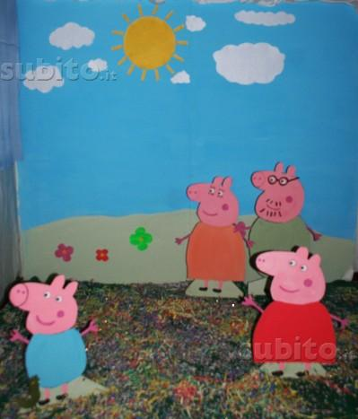 Scenografia peppa pig
