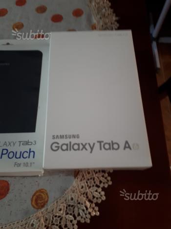Samsung Galaxy tab A 4G telefono display da 10.1