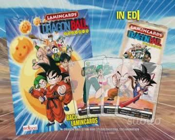 C. E. R. C. O. Lamincards Dragon Ball serie nera