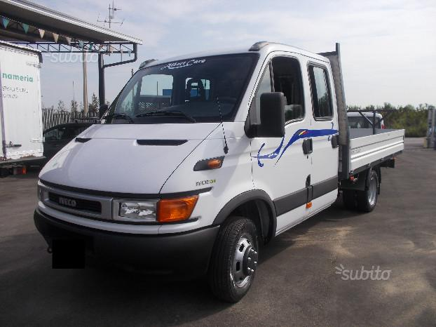 Iveco daily 35c12 ( 6+1 ) + cassone