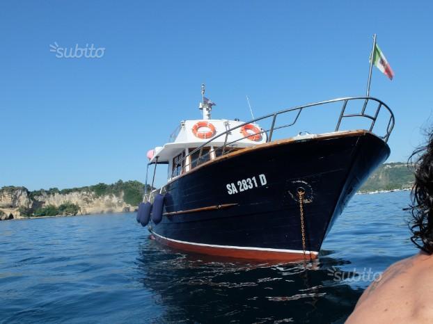 Noleggio barca 15MT.con skipper