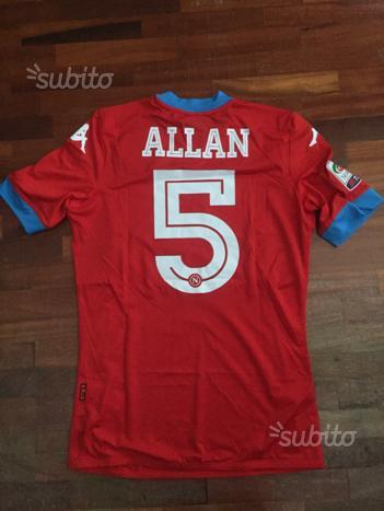 Maglia Napoli Allan 2015-16