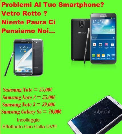 Vetro Samsung Note