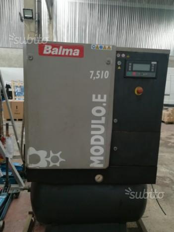 Compressore rotativo a vite balma usato