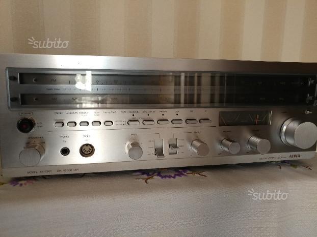 Aiwa ax 7600 sintoamplificatore vintage