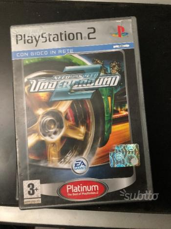 Need For Speed Underground 2 PS2 Platinum