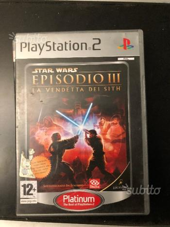 Star Wars Episodio 3 La Vendetta Dei Sith PS2 Plat