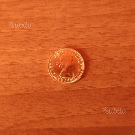Sterlina in oro anno 1964 f.d.c