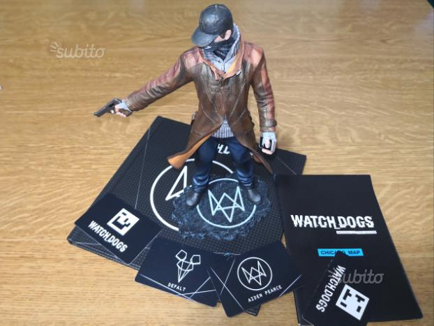 Videogioco Whatch Dogs action figure Aiden Pearce