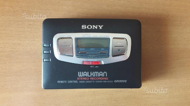 Walkman SONY anni 90' da collezione