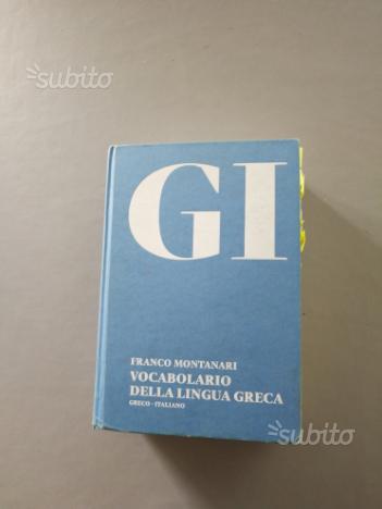 Dizionario di greco GI Montanari