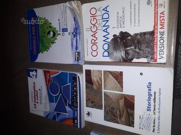 Libri per 3 e 4 anno liceo