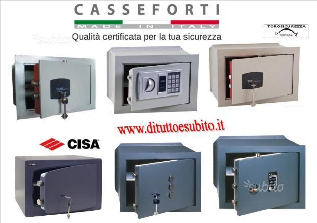 Cassaforte casseforti CISA e TORO porta fucili