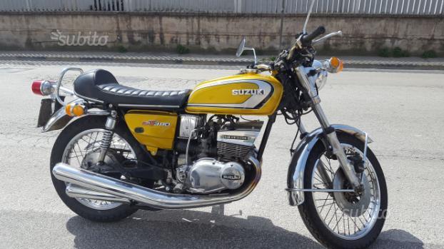 Moto suzuki Gt 380