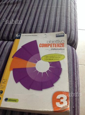 Libro di matematica per scuola media