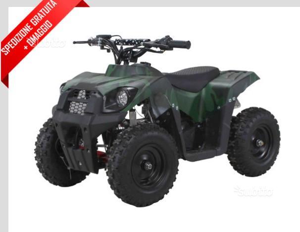 "Mini quad Tiger camouflage 50cc e-start 6"""