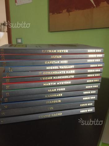 Fumetti serie oro 12 volumi