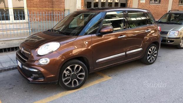 Fiat 500l bronzo donatello garanzia fiat italia