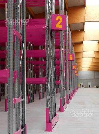 Scaffalatura industriale porta pallet 27 posti pal