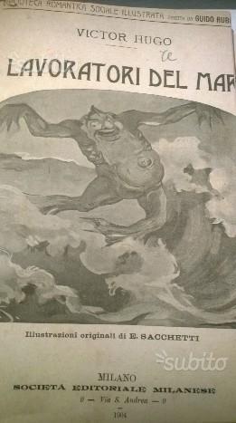 Volume VICTOR HUGO I LAVORATORI DEL MARE -1904