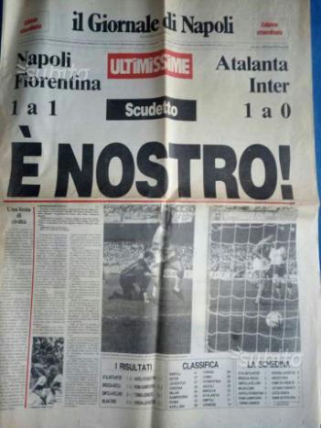 Quotidiano Il Giornale di Napoli 10 5 1987