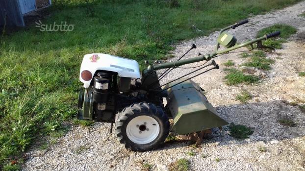 Motocoltivatore lombardini diesel
