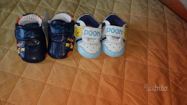 4 paia di scarpe neonato mai usate