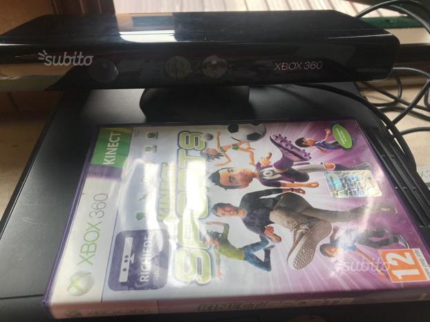 Kinect per Xbox 360 con gioco kinect sports