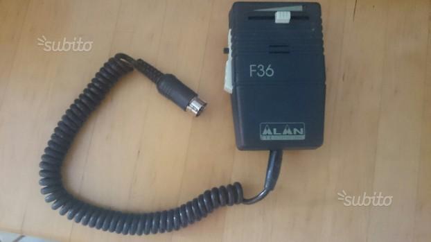 Microfono per ricetrasmettitori Alan F36